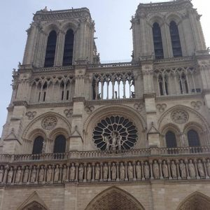 Notre Dame Cathedral Bell Towers